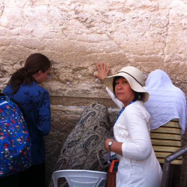 wailing wall three